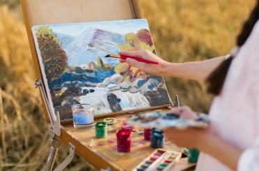 Auxiliar en pintura y manualidades (pintura -  técnicas)